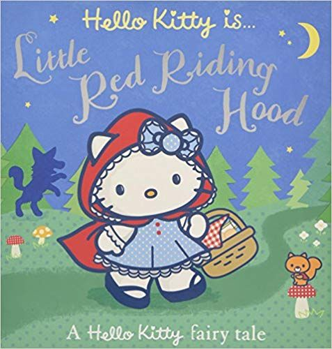 HELLO KITTY IS LITTLE RED RIDING HOOD