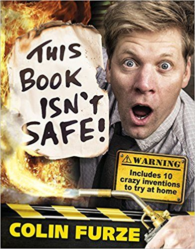 COLIN FURZE: THIS BOOK ISNT SAFE UK HC