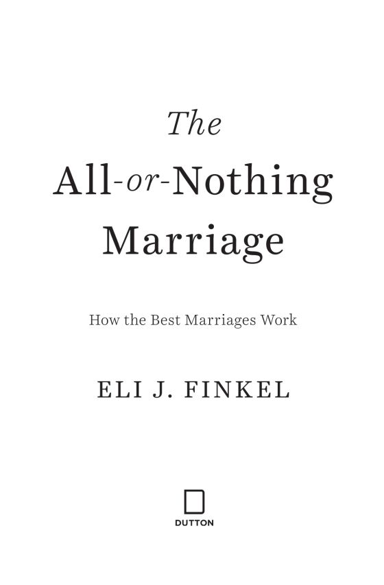 The All Or Nothing Marriage Pb Us.