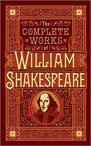 THE COMPLETE WORK OF WILLIAM SHAKESPEAR -  LEATHER EDITION