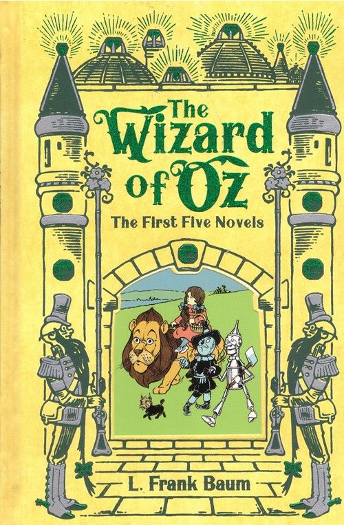 THE WIZARD OF OZ: THE FIRST FIVE NOVELS -  LEATHER EDITION